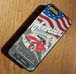 KOOLART AMERICAN MUSCLE Retro 1967 CHEVY NOVA Hard Case For Apple iPhone 5 & 5s